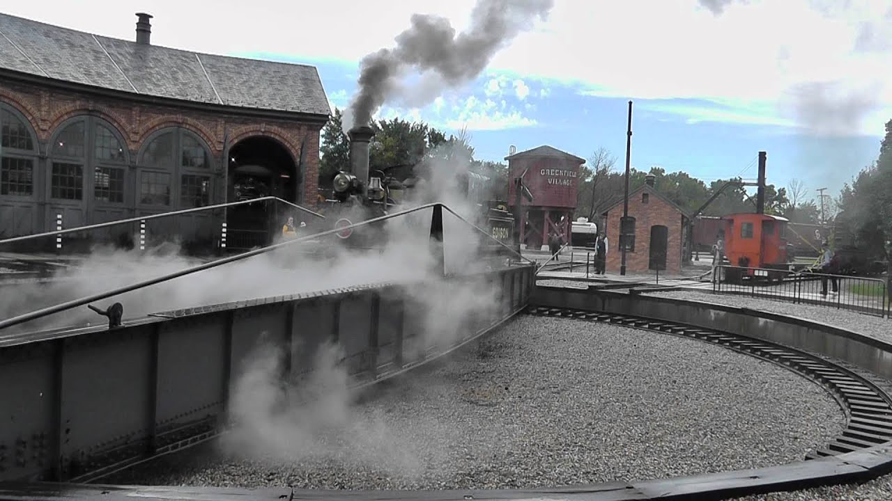 Ford Of Greenfield >> Greenfield Village Henry Ford Museum Steam Train Edison 2011 - YouTube