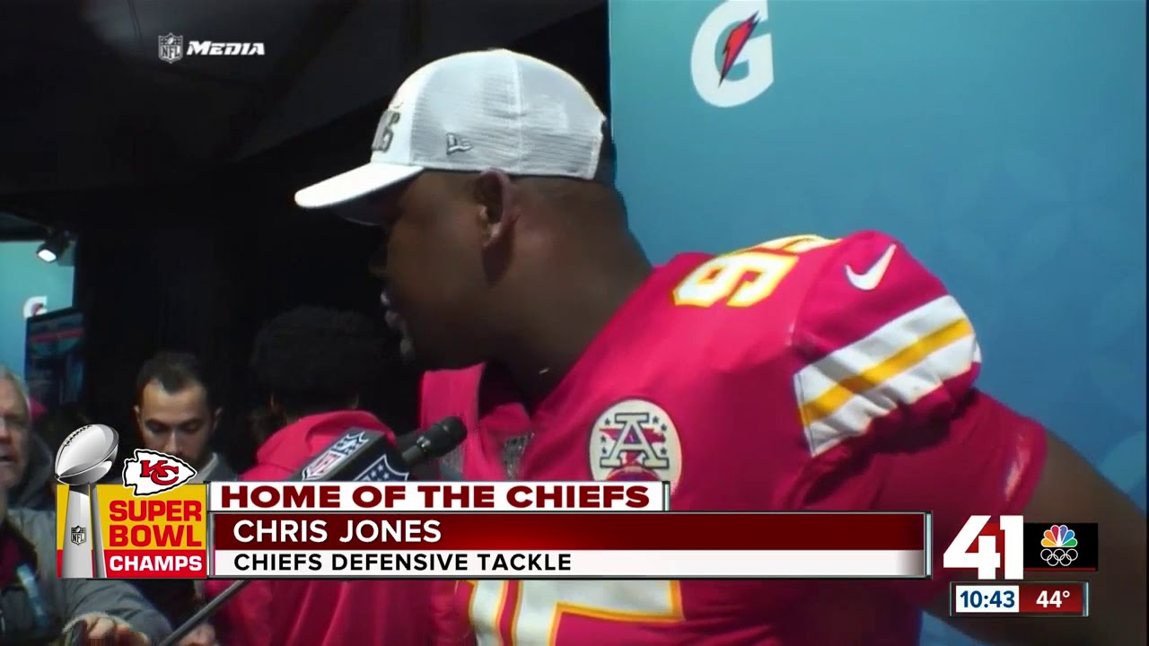 Chiefs DT Chris Jones says he wasn't coming back to KC without a ring