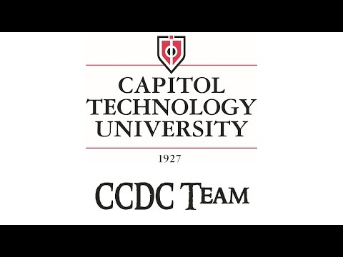 Capitol Technology University 2015 CCDC Team Intro