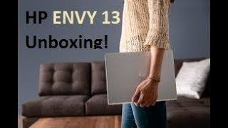 HP ENVY 13 Unboxing!