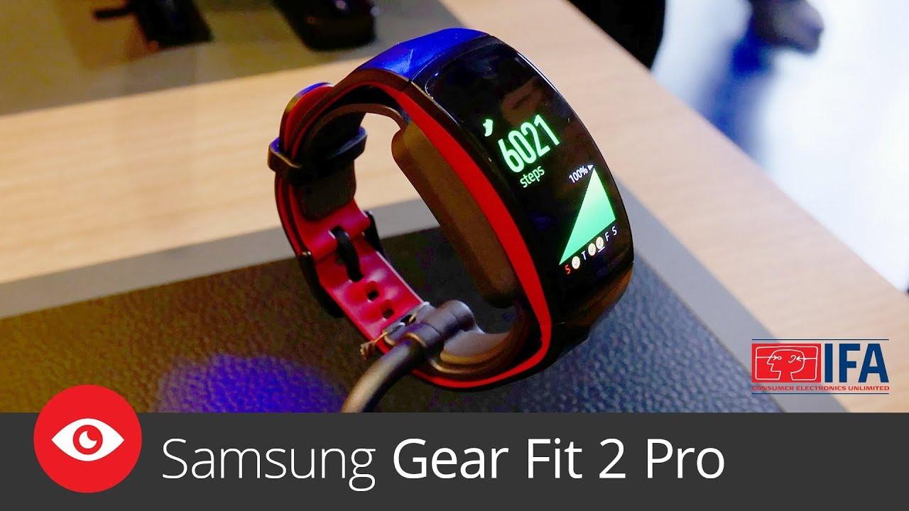 Samsung Gear Fit 2 Pro (IFA 2017)
