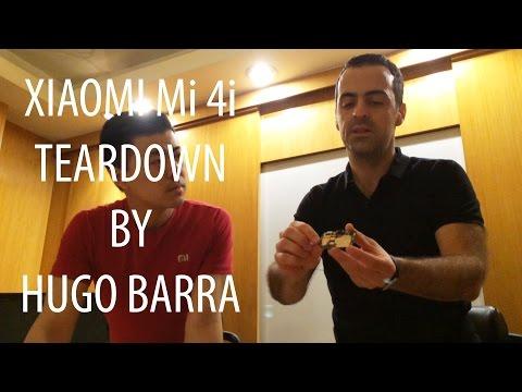 Hugo Barra takes apart the Xiaomi Mi4i & talks about the