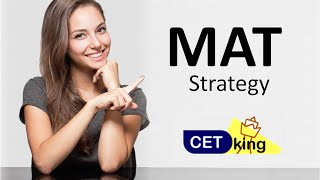 Strategy MAT Exam Increase score by 10 marks