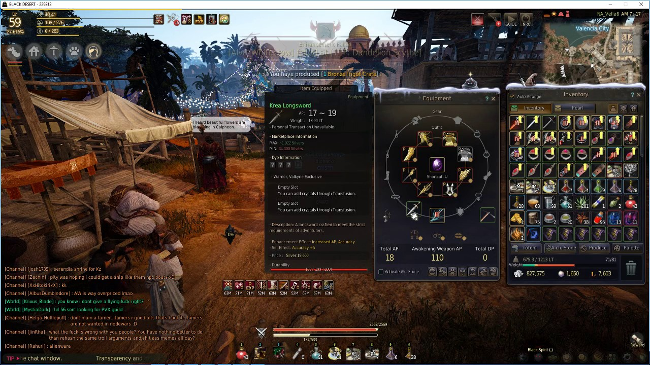 BDO Science Episode 2  Black Desert Online, AP vs Human Damage