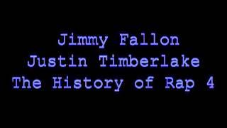 Jimmy Fallon & Justin Timberlake - The History of Rap 4