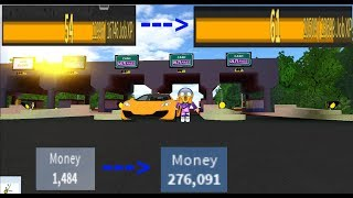 HOW TO GET YOUR RANKS AND MONEY UP QUICKLY | Ultimate Driving Westover Islands | ROBLOX