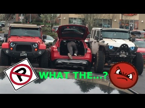 2 Jeeps gives lesson to Mercedes how NOT to park (OFFICIAL VIDEO)