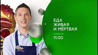 """""""Еда живая и мёртвая"""": новый сезон!"""