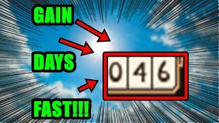 How to gain/survive days FAST in Rogue Lineage | Roblox