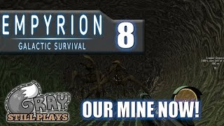 Empyrion Galactic Survival | Well Folks, It's OUR Abandoned Mine Now! | Part 8 | Gameplay Let's Play