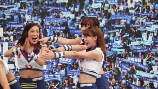 横浜スタジアム セパ交流戦 横浜ベイスターズ1回戦 試合前「BAYガーデン...