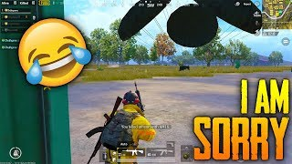 STEALING Enemies SUPER AIR DROP😂😂 in Pubg Mobile | I AM SO SORRY😂😂