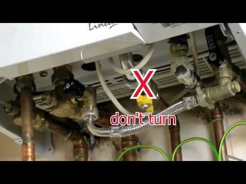 How to repressurise your boiler - YouTube