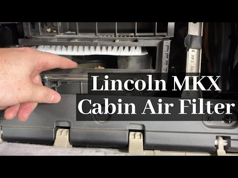 How to Change a Lincoln MKX Cabin Air Filter 2007 – 2015 DIY Remove / Replace Tutorial