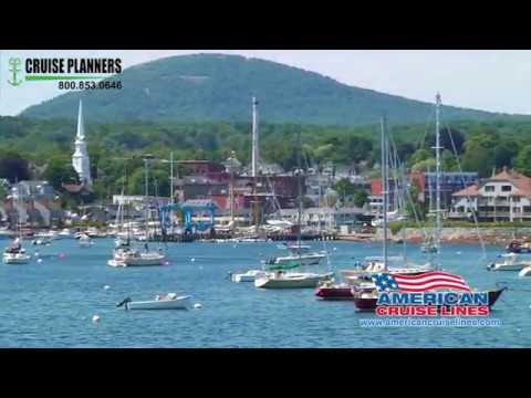 America Cruise Lines - Maine Coast  and Harbors Cruises