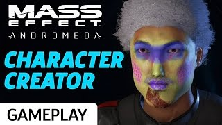Testing the Limits of Mass Effect Andromeda's Character Creator