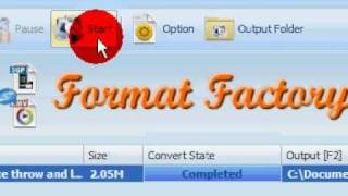 Format factory tutorial