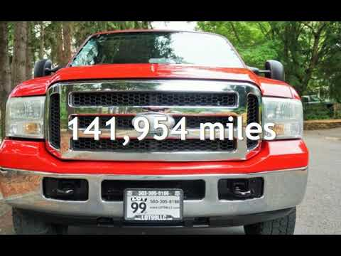 2006 Ford F-250 4X4 1 Owner Powerstroke BULLETPROOF Short Bed for sale in Milwaukie, OR