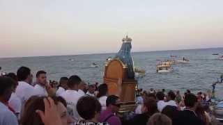 Arrivo della Madonna in spiaggia