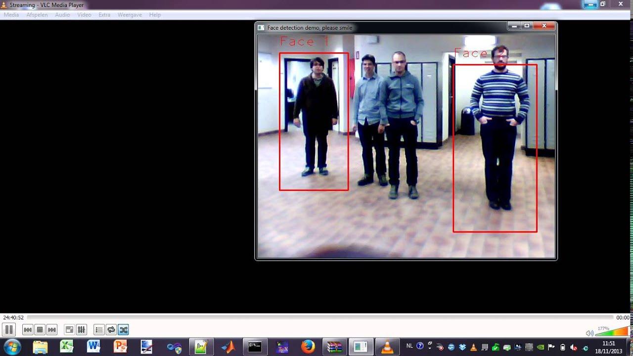 HOG + SVM based fullbody detection using OpenCV 2 4