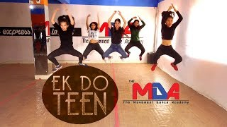 Baaghi 2: Ek Do Teen Song | Dance Choreography | The Movement Dance Academy | Bidur Siwakoti