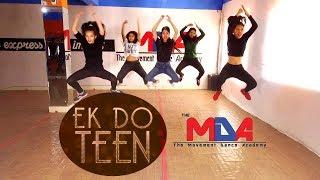 Baaghi 2: Ek Do Teen Song | Dance Choreography | The Movement Dance Academy | Bidur Siwakoti