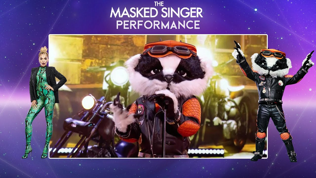 Badger Performs Feeling Good By Nina Simone Season 2 Ep 1 The Masked Singer Uk Youtube