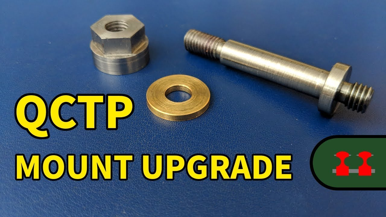 Quick Change Tool Post Upgrade for the Proxxon PD 250/e Lathe