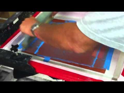 6 Color Screen Printing Job w/ Halftones - Cincy Apparel