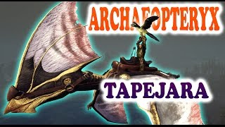ARK - HOW TO TAME TAPEJARA & ARCHAEOPTERYX - Night Vision Goggles - ARK Survival Evolved Update 427