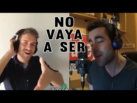 No Vaya A Ser - Pablo Alborán (Dueto DAVID VARAS & PABLO ALBORÁN)
