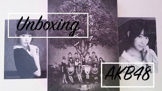 "[UNBOXING] AKB48 6th Album ""Koko ga Rhodes da, Koko de Tobe!"" Type-A Limited Edition"