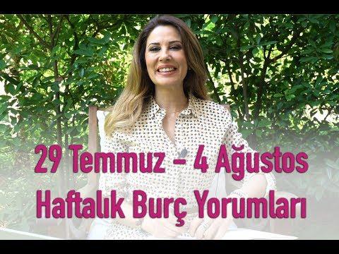 29 Temmuz - 4 Ağustos Haftalık Burç Yorumları - Hande Kazanova ile Astroloji