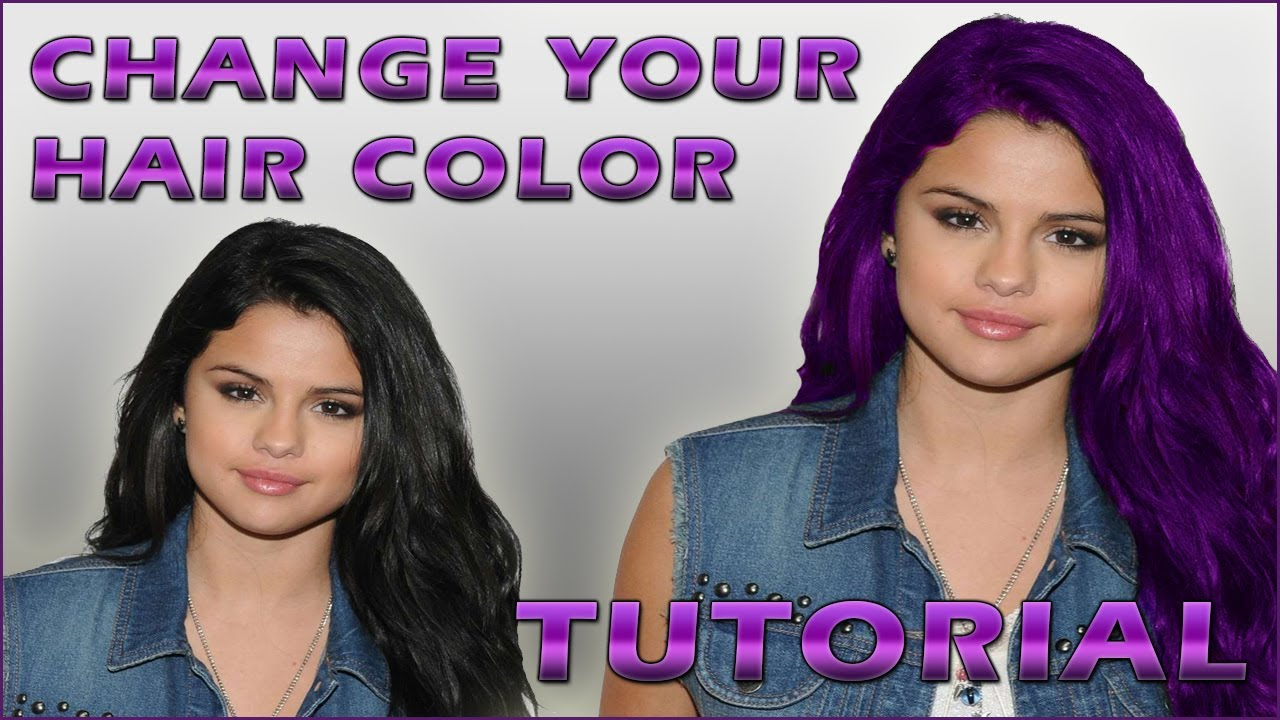 Change your hair colour within 5 minutes - YouTube