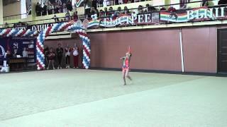 Худож. гимнастика. Паринова Катя 2005 г.р. (скакалка)