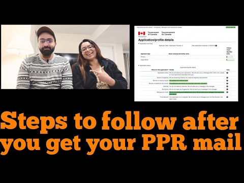 Steps To Follow After You Get Your PPR!!!