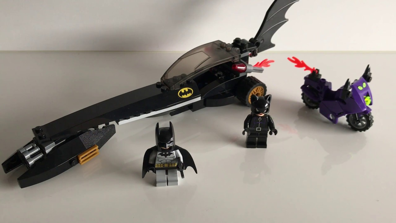NO BOX Catwoman Pursuit LEGO 7779 BATMAN The Batman Dragster