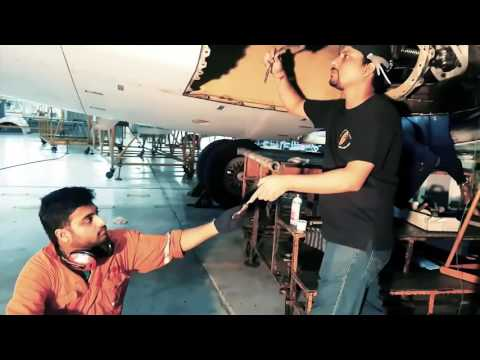 Jet Airways Engineering Mannequin Challenge
