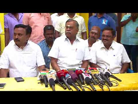 BJP's iLa Ganesan Press Meet at Madurai