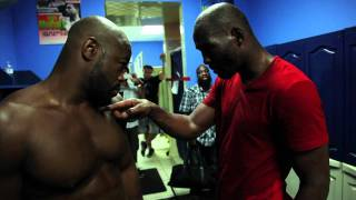 Rashad Evans Meet Bernard Hopkins