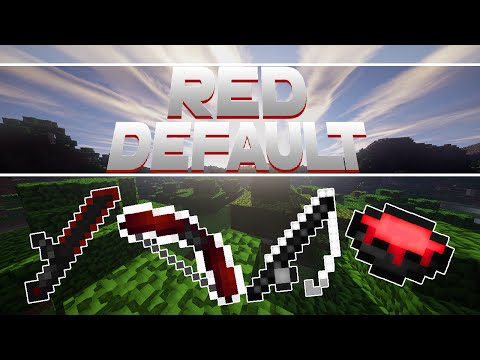 Minecraft PvP Texture Pack - Nerox Red Pack - by TeaPlays