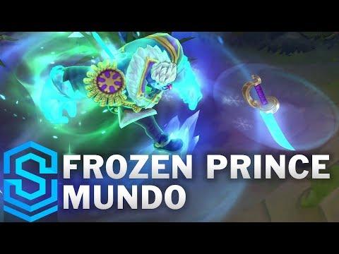 Frozen Prince Mundo Skin Spotlight - League of Legends
