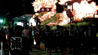 富山県砺波地方で開かれる夜高祭の代表的存在が、小矢部市津沢地区の「...