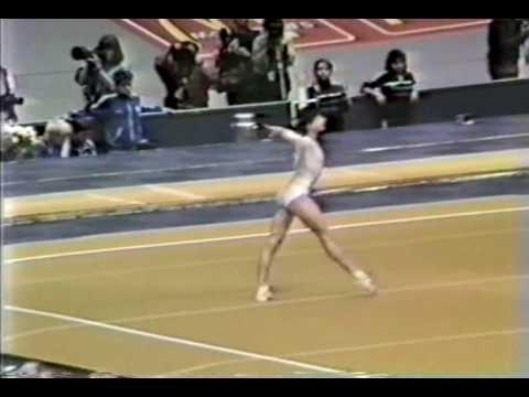 12th AA Maria Kartalova FX - 1987 World Gymnastics Championships 9.775 Mp3