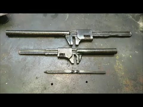 forge tool for bending square stock