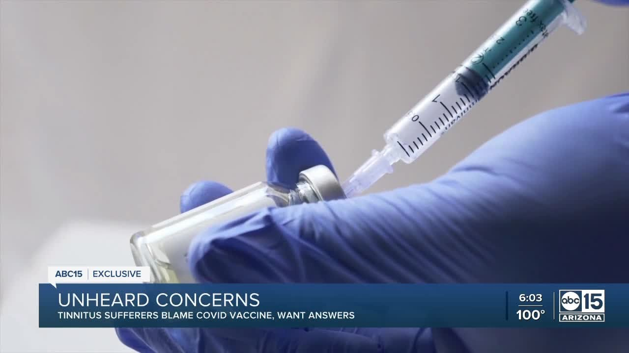 Unheard Concerns Thousands blame COVID19 vaccine for hearing problems
