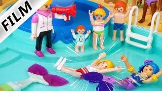 Playmobil Film deutsch MEERJUNGFRAUEN RENNEN IM AQUAPARK - Kann Mama Claudia gewinnen? Familie Vogel