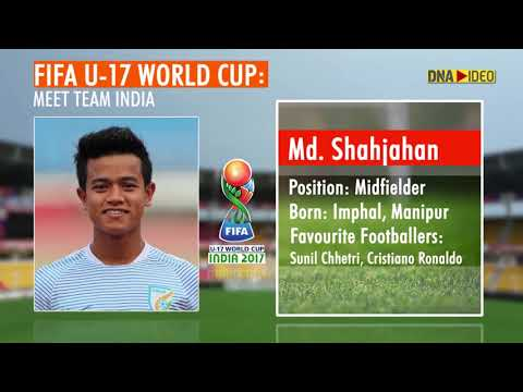FIFA U17 World Cup: Meet Team India- the 21 players who are representing the nation