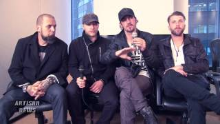 "THREE DAYS GRACE INTERVIEW - PART 4 ""CHALK OUTLINE"""