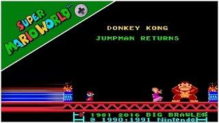 Jumpman Returns (8-bit Colors) (2016) | Super Mario World Hack